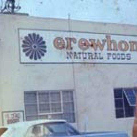 Vintage Erewhon store exterior