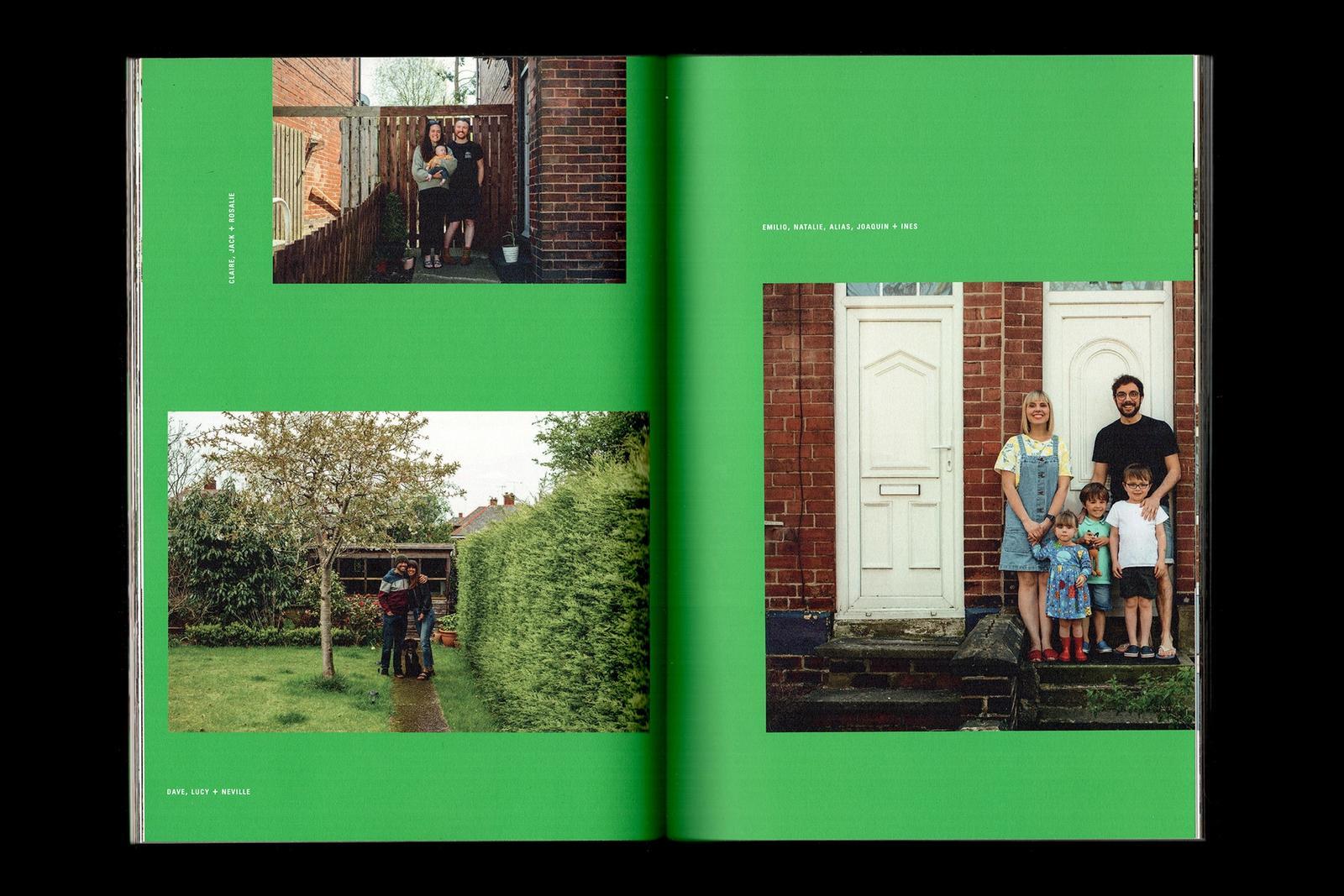 Scan of the inside of Doorstep Portraits.