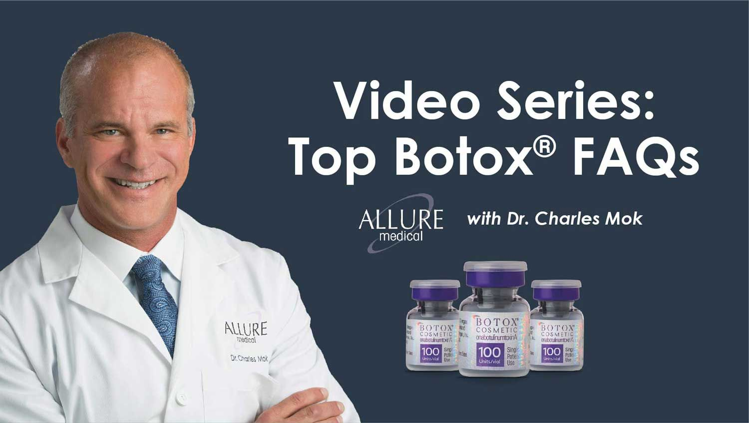 top botox faqs with dr. charles mok of allure medical