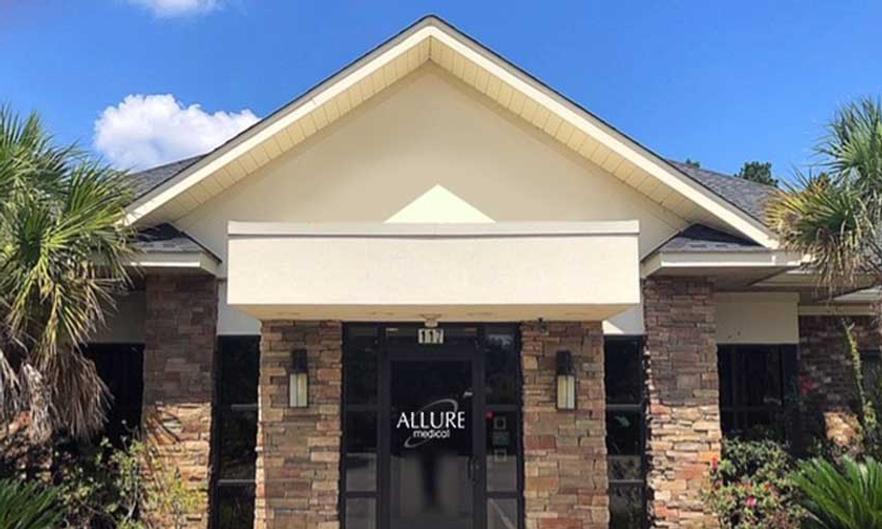 Image of Allure Medical's Lexington, SC Office Location
