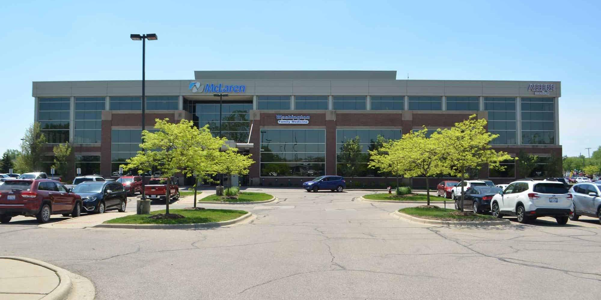 Image of Allure Medical's Shelby Township, Michigan Office Location