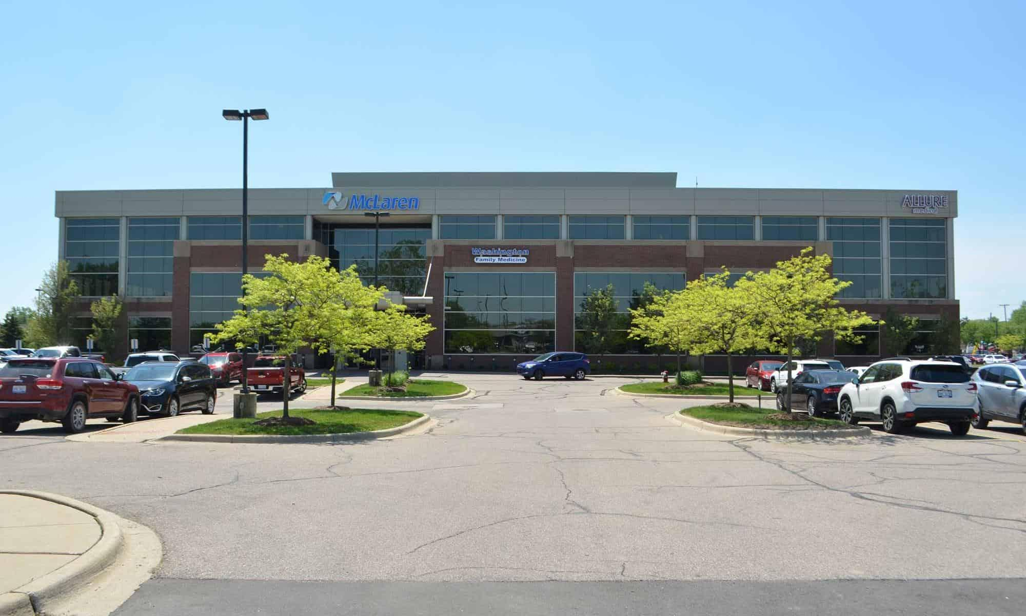 Image of Allure Medical's Shelby Township, MI Office Location