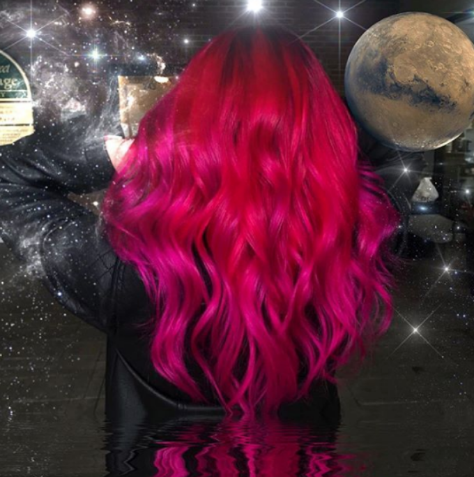 fantasy hair color trend 2020